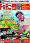 Portada diario AS del 1 de Septiembre de 2009