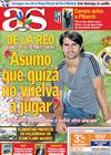 Portada diario AS del 4 de Septiembre de 2009