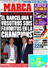 Portada diario Marca del 4 de Septiembre de 2009