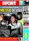 Portada diario Sport del 4 de Septiembre de 2009