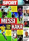 Portada diario Sport del 5 de Septiembre de 2009