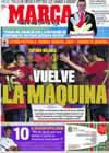 Portada diario Marca del 6 de Septiembre de 2009