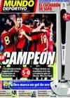 Portada Mundo Deportivo del 6 de Septiembre de 2009