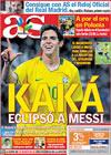 Portada diario AS del 7 de Septiembre de 2009