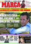 Portada diario Marca del 7 de Septiembre de 2009