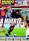 Portada Mundo Deportivo del 7 de Septiembre de 2009