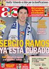 Portada diario AS del 8 de Septiembre de 2009
