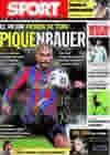 Portada diario Sport del 8 de Septiembre de 2009