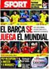 Portada diario Sport del 9 de Septiembre de 2009