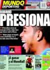Portada Mundo Deportivo del 9 de Septiembre de 2009