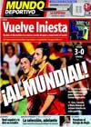 Portada Mundo Deportivo del 10 de Septiembre de 2009