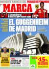Portada diario Marca del 11 de Septiembre de 2009