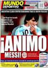 Portada Mundo Deportivo del 11 de Septiembre de 2009