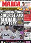 Portada diario Marca del 12 de Septiembre de 2009