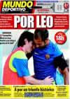 Portada Mundo Deportivo del 12 de Septiembre de 2009