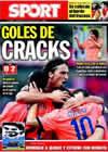 Portada diario Sport del 13 de Septiembre de 2009