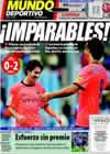 Portada Mundo Deportivo del 13 de Septiembre de 2009