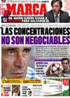 Portada diario Marca del 14 de Septiembre de 2009