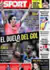 Portada diario Sport del 14 de Septiembre de 2009
