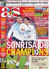 Portada diario AS del 15 de Septiembre de 2009