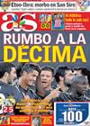 Portada diario AS del 16 de Septiembre de 2009