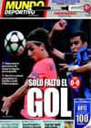 Portada Mundo Deportivo del 17 de Septiembre de 2009