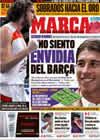 Portada diario Marca del 20 de Septiembre de 2009