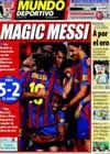 Portada Mundo Deportivo del 20 de Septiembre de 2009