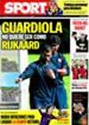 Portada diario Sport del 22 de Septiembre de 2009