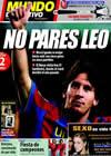 Portada Mundo Deportivo del 22 de Septiembre de 2009