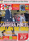 Portada diario AS del 23 de Septiembre de 2009