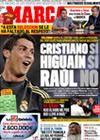 Portada diario Marca del 23 de Septiembre de 2009