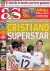 Portada diario AS del 24 de Septiembre de 2009