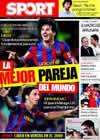 Portada diario Sport del 24 de Septiembre de 2009
