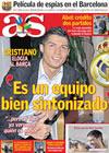 Portada diario AS del 25 de Septiembre de 2009