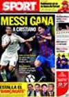 Portada diario Sport del 25 de Septiembre de 2009