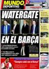 Portada Mundo Deportivo del 25 de Septiembre de 2009