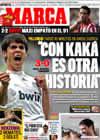 Portada diario Marca del 27 de Septiembre de 2009