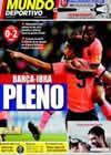 Portada Mundo Deportivo del 27 de Septiembre de 2009