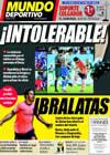 Portada Mundo Deportivo del 28 de Septiembre de 2009