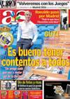 Portada diario AS del 29 de Septiembre de 2009