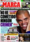 Portada diario Marca del 29 de Septiembre de 2009