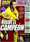 Portada Mundo Deportivo del 29 de Septiembre de 2009