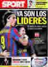 Portada diario Sport del 30 de Septiembre de 2009