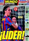 Portada Mundo Deportivo del 30 de Septiembre de 2009