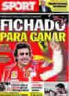 Portada diario Sport del 1 de Octubre de 2009