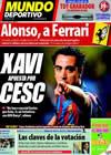 Portada Mundo Deportivo del 1 de Octubre de 2009