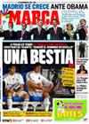 Portada diario Marca del 2 de Octubre de 2009