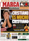 Portada diario Marca del 5 de Octubre de 2009