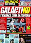 Portada Mundo Deportivo del 5 de Octubre de 2009